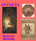 Antakya Antioch on Orontes St Paul St Peter Cave Church of St Peter Mosaics Archeological Museum Hatay