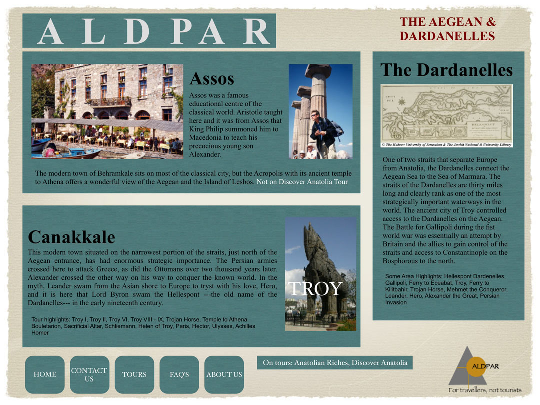 the aegean and dardanelles